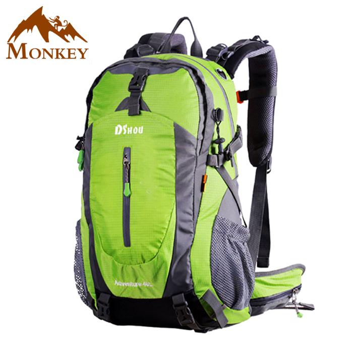 Mountaineering monkey outdoor multifunctional hiking bag sports leisure backpack large capacity Backpack