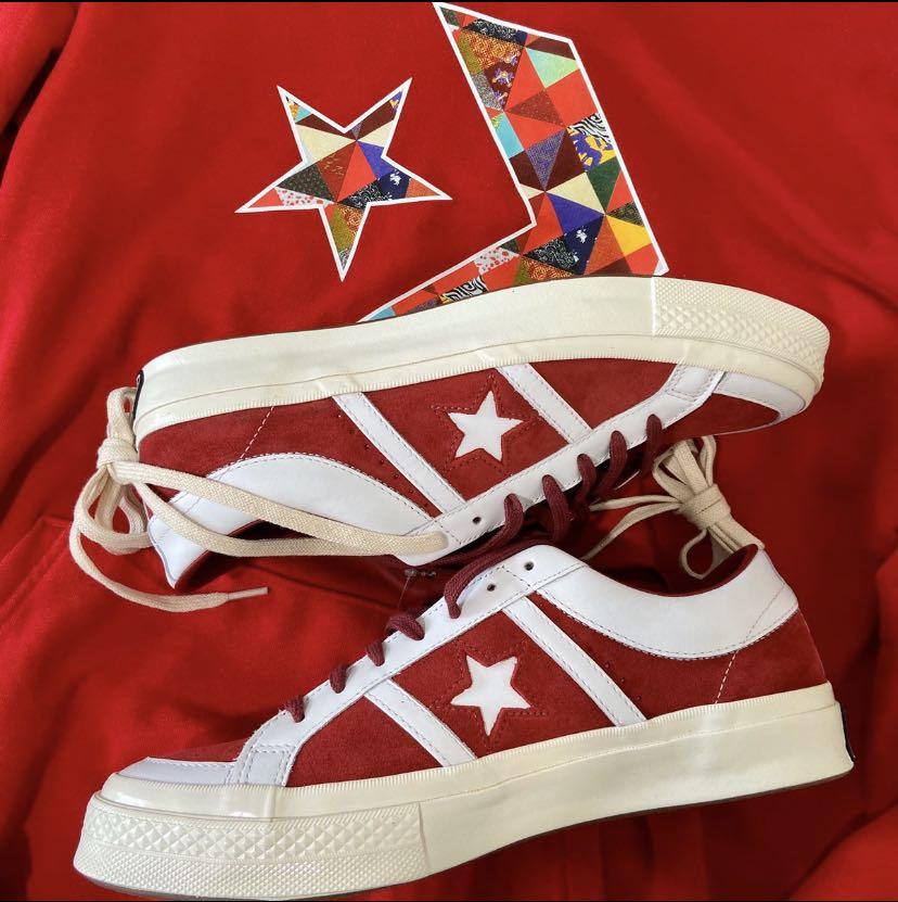 欧阳娜娜同款帆布鞋五角星春季新款低帮百搭学生韩版休闲小白板鞋