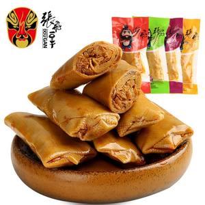 张飞豆腐干香菇夹心豆卷500g四川特产小包装豆干零食250g/1000g