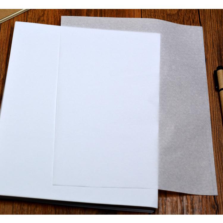 钢笔字帖临摹纸 描图纸拷贝纸 透明纸硬笔书法练习纸练字本纸