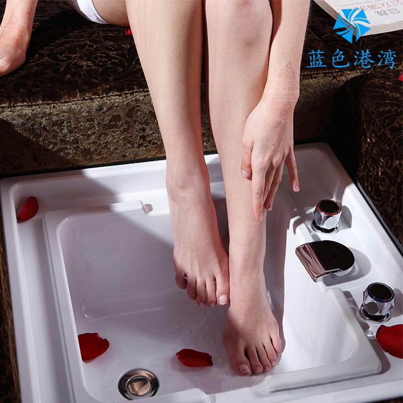 【 источник завод 】 акрил фут бассейн мыть ступня бассейн поддерживающий диван встроенный купание достаточно бассейн пузырь ступня бассейн