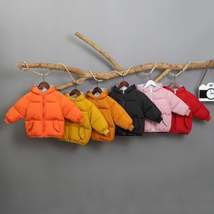 宝宝棉衣冬装男童女童儿童短款棉服潮童新款洋气棉袄婴儿外套衣服