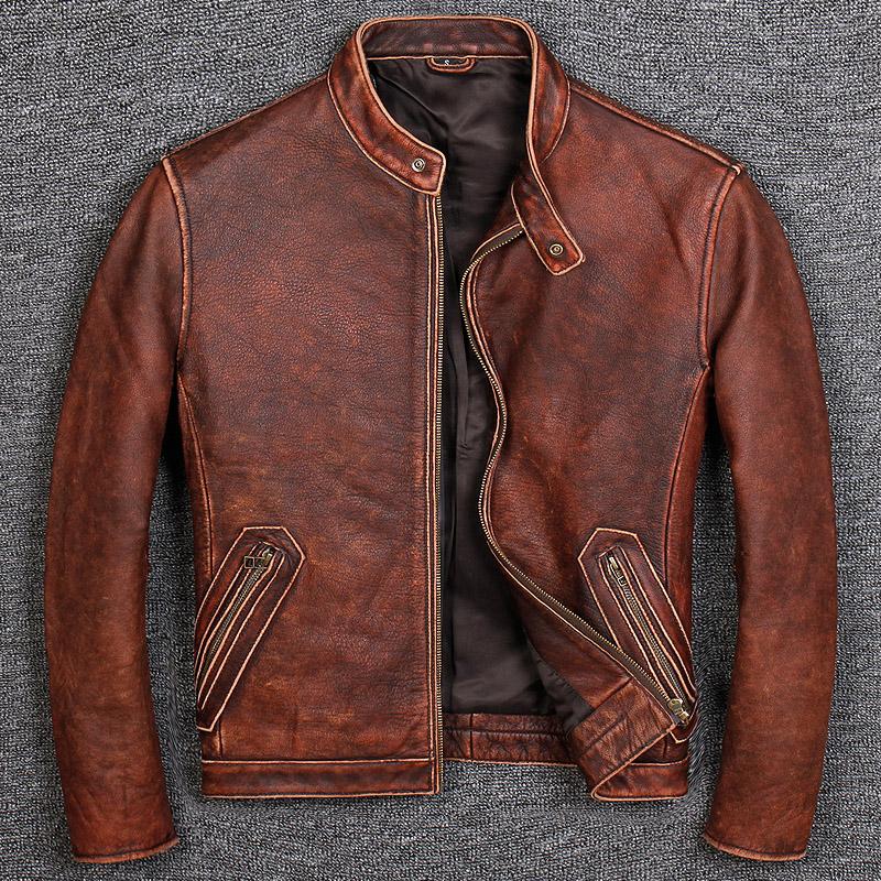 Кожаные куртки Артикул 577352056554