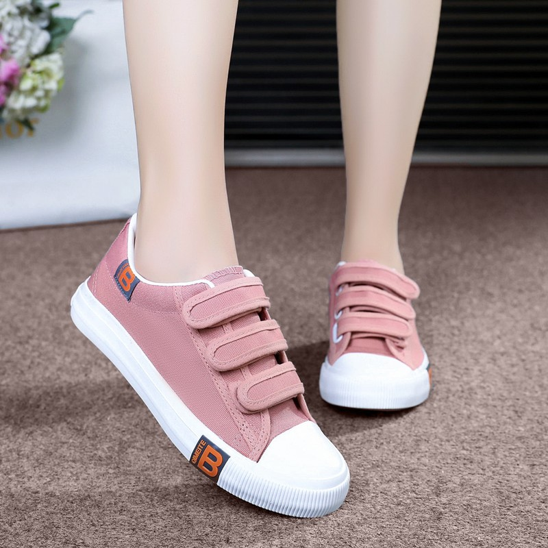 Summer and autumn womens shoes high school students casual shoes junior high school students canvas shoes girls big childrens flat shoes womens board shoes