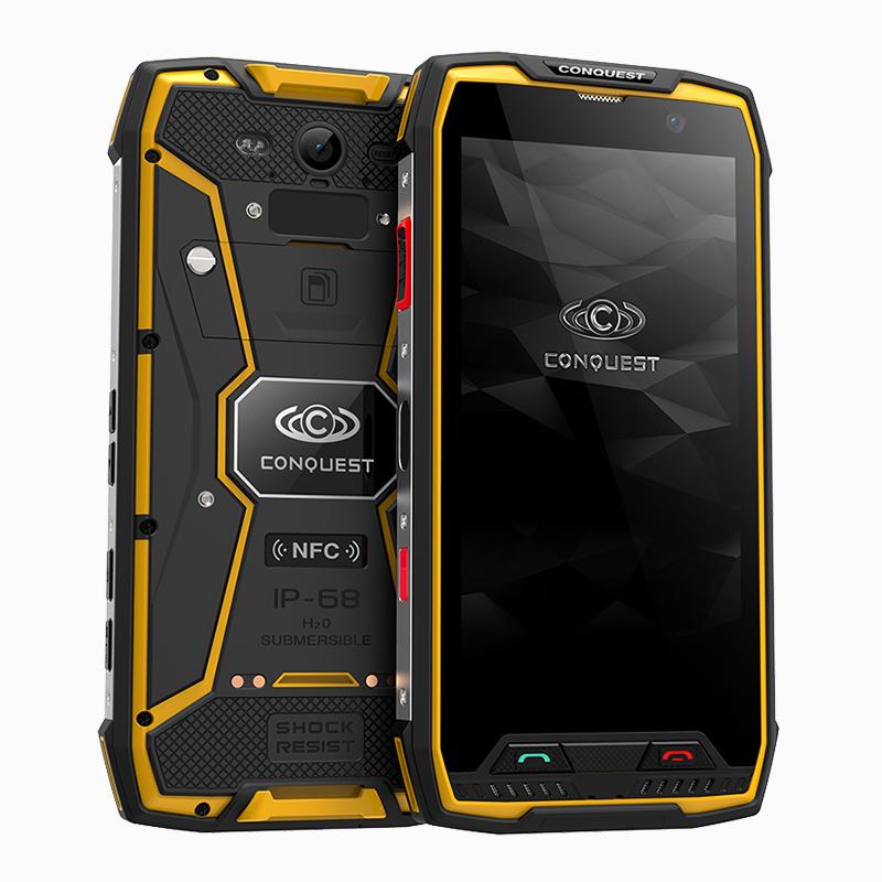 征服CONQUEST S11三防手机八核全网通防水超长待机人脸识别正品