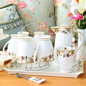 杯具套装家用轻奢陶瓷杯子马克杯