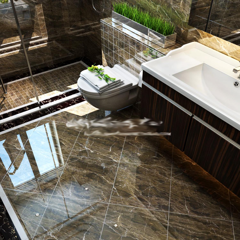古典啡色大理石瓷砖 深咖网客厅地砖 卫生间厨房内墙砖 800*800
