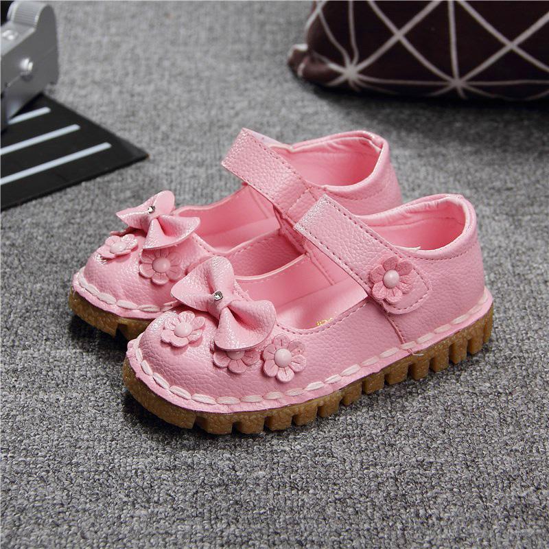 2016 моды сандалии Обувь новый студент обувь младенца девочек принцесса обувь Обувь корейской версии кожаные ботинки