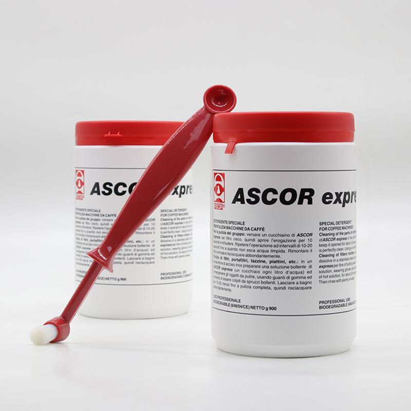 10-12新券意大利进口ASCOR半自动全自动咖啡机组合套装清洗反冲洗药粉900g