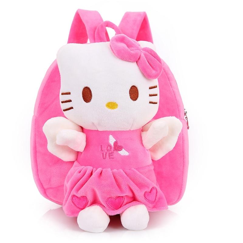 可爱Hello kitty 幼儿园小书包双肩背包1-2-3岁宝宝男女孩婴儿童正品保证
