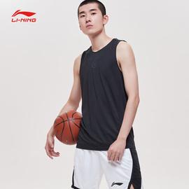 李宁背心男2020新款韦德之道速干套头无袖上衣夏季针织薄款运动服图片