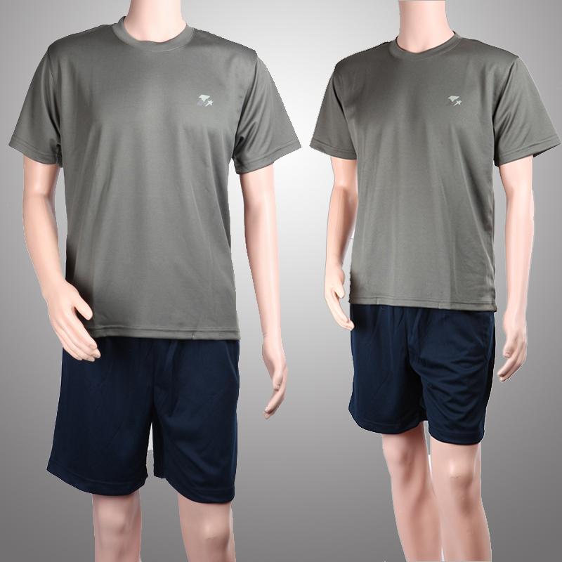 07体能训练服 夏季短袖作训部队套装男陆军特种兵速干军迷T恤
