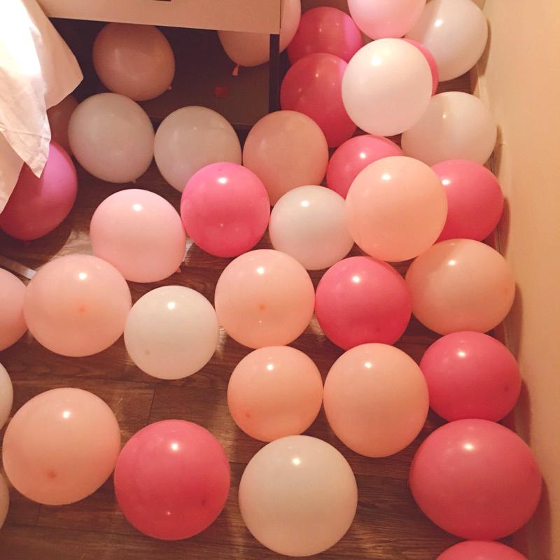 (用20.79元券)加厚哑光批发免邮婚房浪漫布置气球