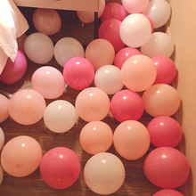 10 inch thick latex balloon romantic creative wedding wedding room layout birthday party decoration matte balloons
