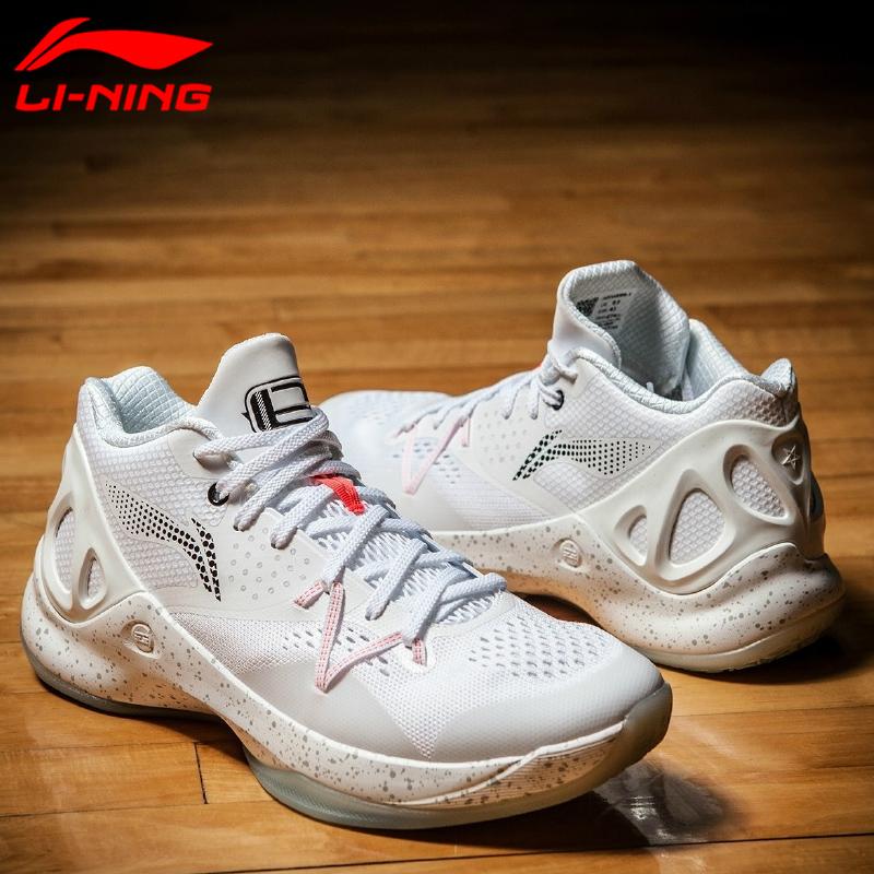 10月16日最新优惠李宁篮球鞋男2019秋季款韦德之道8埃文特纳音速5低帮运动鞋子白色