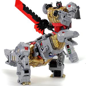 天元飞镖钢索铁渣合体恐龙机器人模型变形玩具金刚5 BPF修罗王