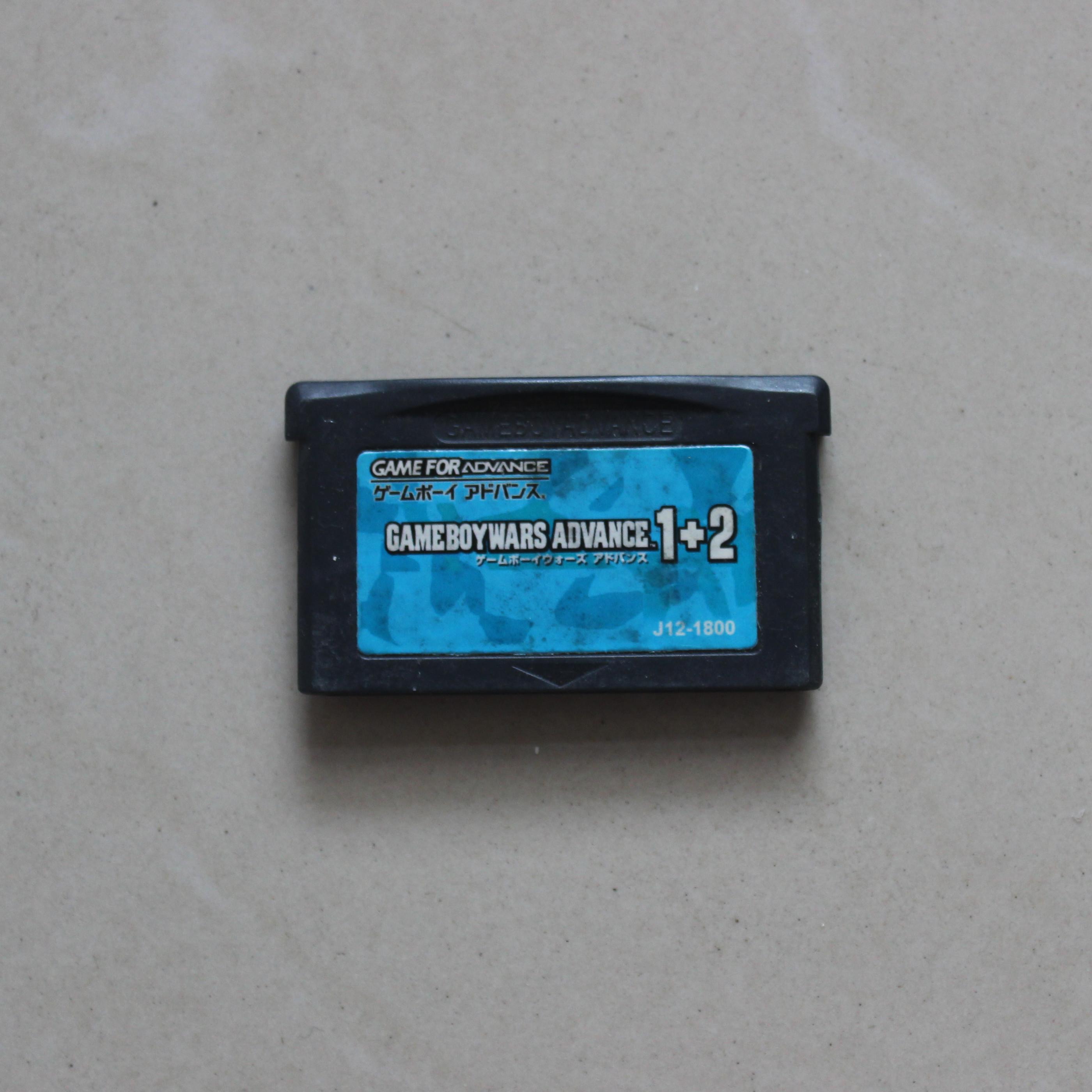 GBM NDSL GBASP GBA游戏卡带 高级战争1+2 日文版 黑洞的升起
