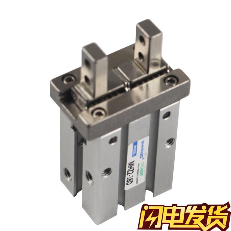MHZ2-16D-10D-20D-25D-32D-40D-16S-10S-20SMC型平行气爪手指气缸