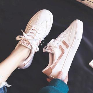 韩国韩版小白鞋女2020新款女鞋春季皮面帆布鞋学生百搭ins板鞋女