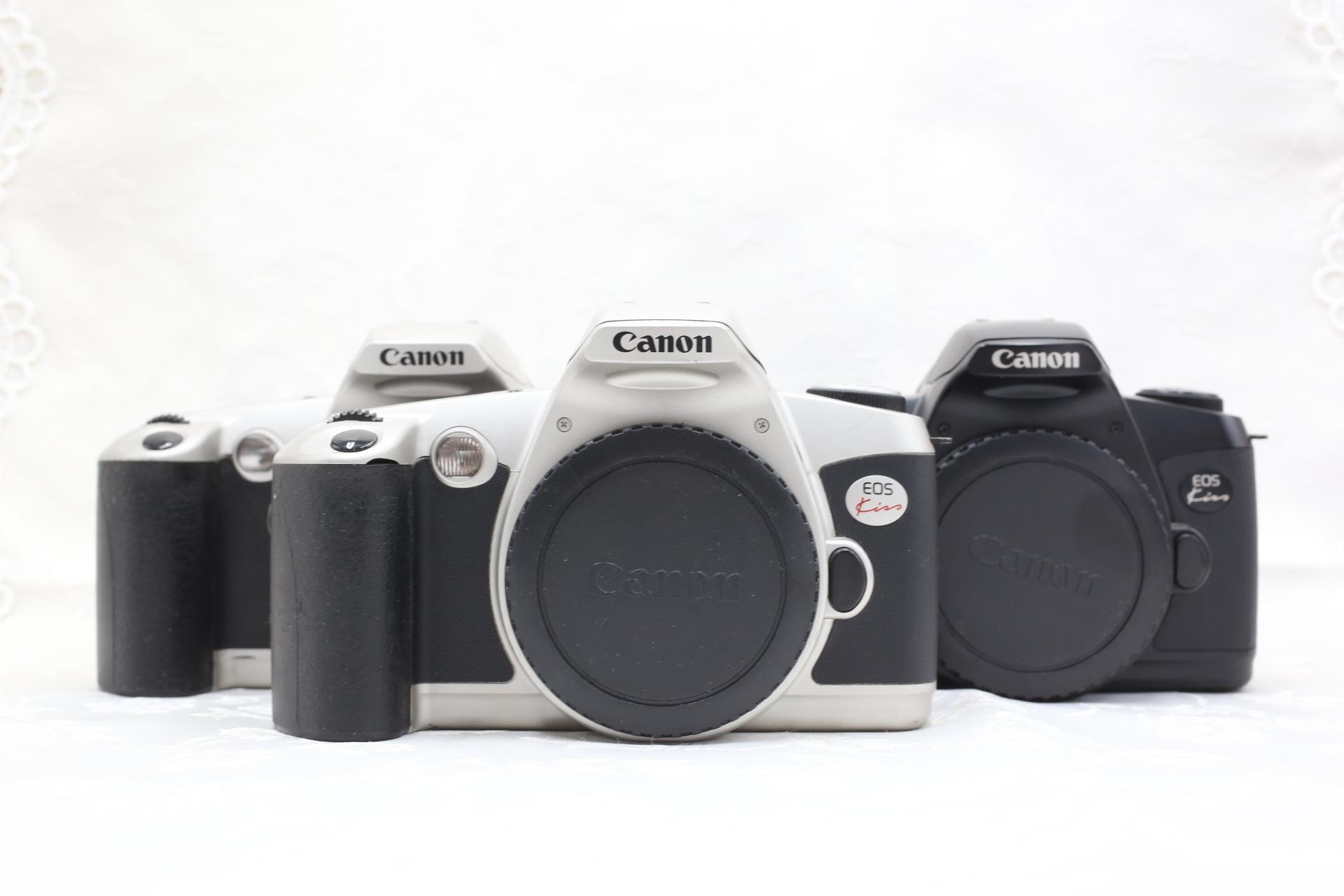 Канон CANON EOS KISS 1 поколение 2 поколение 3 поколение автоматическая для очаговый EF штык фильм клей объем зеркальные камера