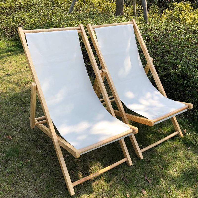 实木沙滩椅实木躺椅折叠椅牛津帆布椅午休椅便携椅陪护椅逍遥椅