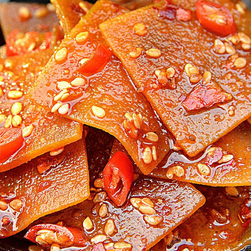 湖南特产豆干零食休闲豆腐干麻辣片香干豆皮小吃辣条儿时回忆辣条