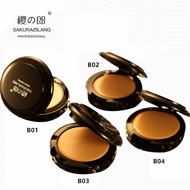 Sakura Lang cosmetics shop special shop, silk slippery plastic face Concealer foundation cream to cover black eye socket waterproof and sweat proof durable paste.