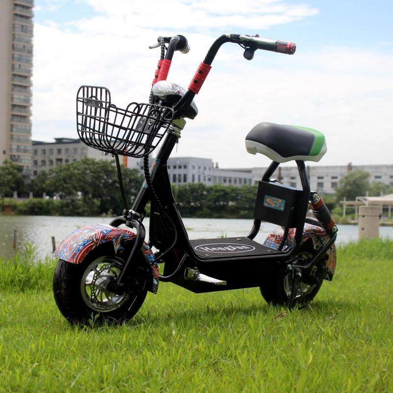 哈代步电动车城市小太子雷滑板电动自行车锂电池迷你电瓶摩托车