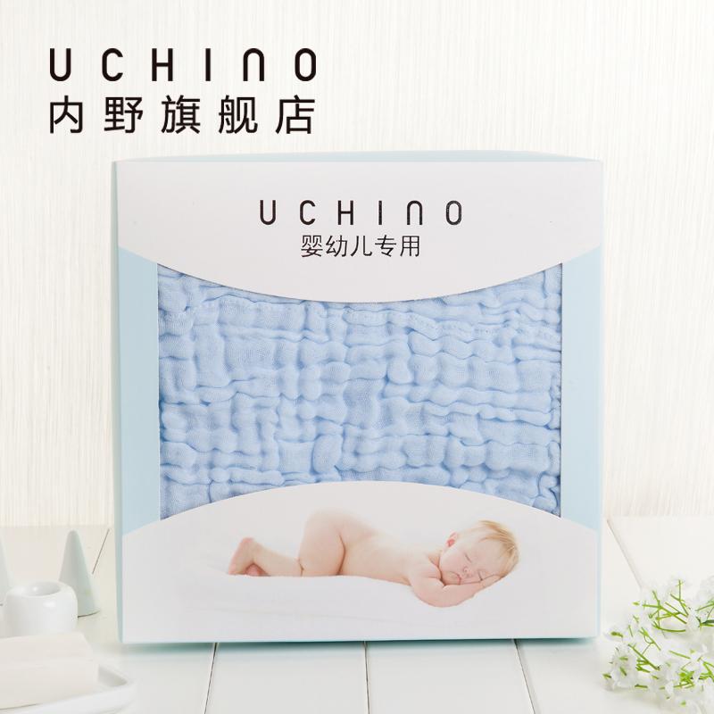 Uchino в дикий хлопок ребенок марля полотенце новорожденных хлопок держать полотенце полотенце находятся ребенок ребенок крышка одеяло