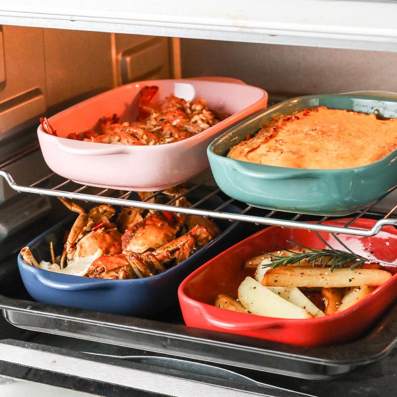 烤盘陶瓷芝士焗饭盘微波炉创意菜盘