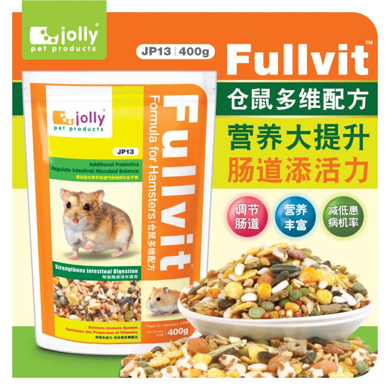 [天宝爱宠宠物用品专营店饲料,零食]Jolly 祖莉多维仓鼠粮食 仓鼠食yabo228851件仅售5元