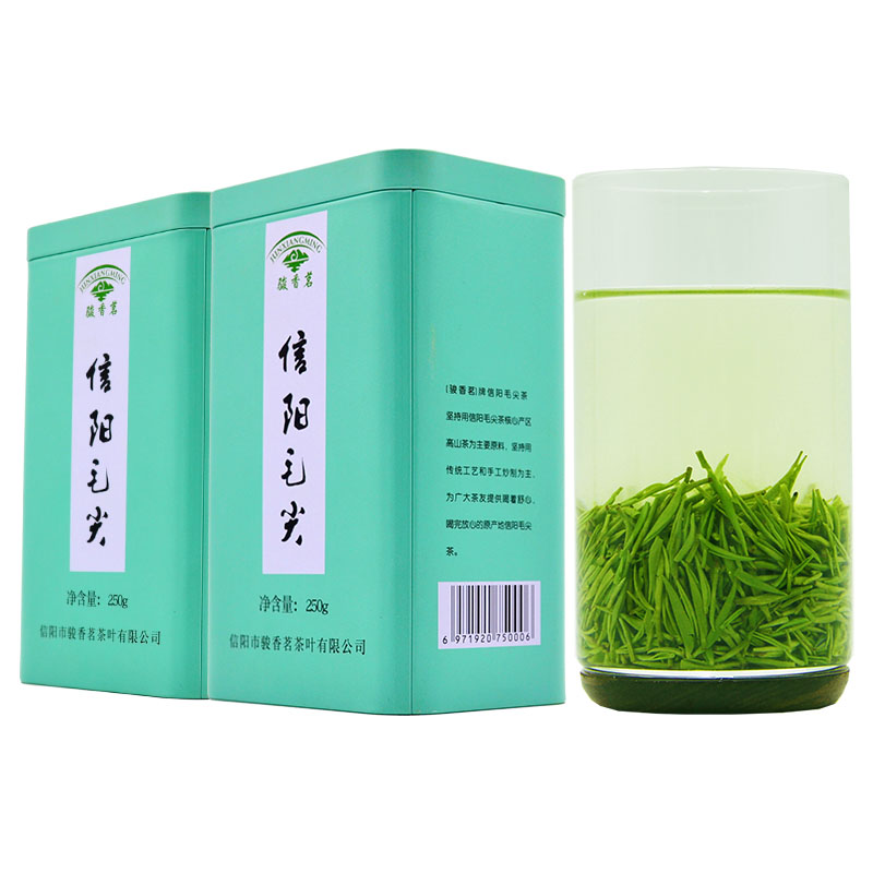 Xinyang Maojian 2020 new tea, spring tea, green tea, pre Ming super buds, alpine tea, strong fragrance type, 500g