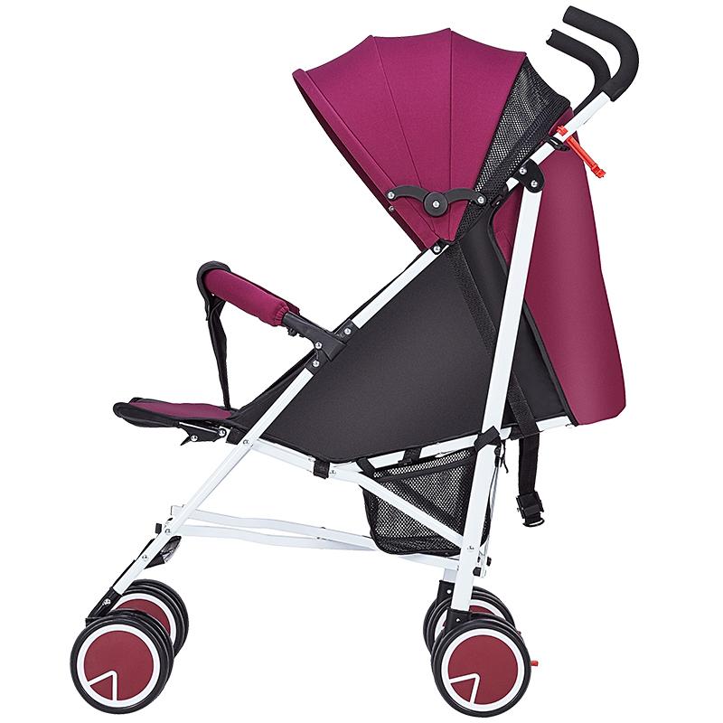 婴儿推车轻便避震折叠便携式可坐可躺推车