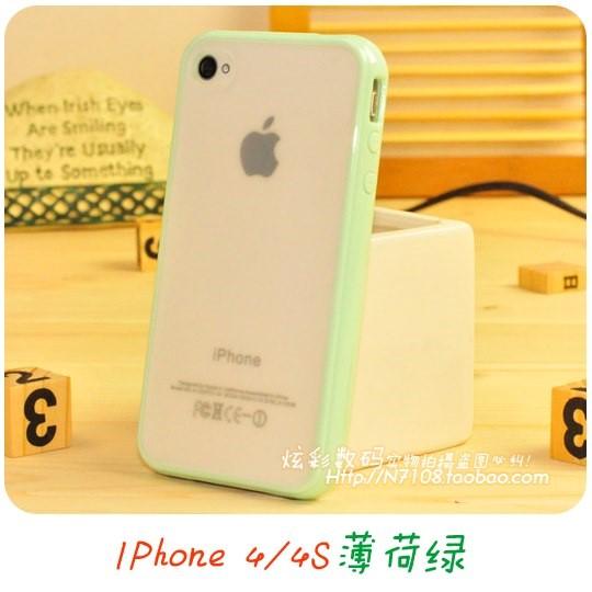 苹果iphone 5S手机壳5S硅胶套Se代硅胶边框全包4保护4S套日韩女男