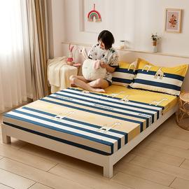 儿童纯棉床笠单件薄垫专用定制订做棕垫保护套一米二床罩全棉夏天图片