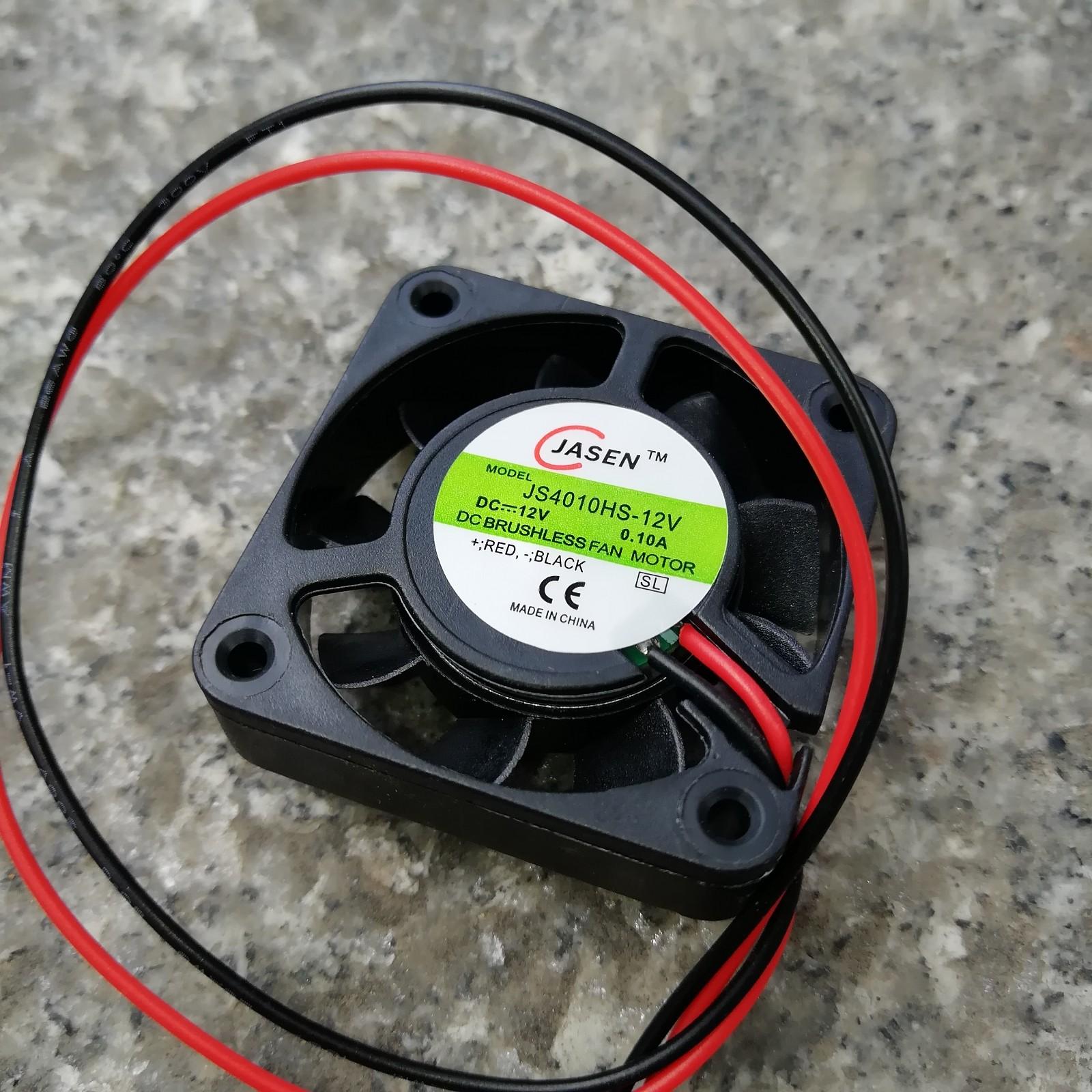 4010 вентилятор 4 см вентилятор 4CM 12V0.10A излучающий вентилятор 2P линия