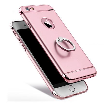 蘋果6s手機殼ip6萍果6pius手機套平果ipone6splus pg6s指環6sp