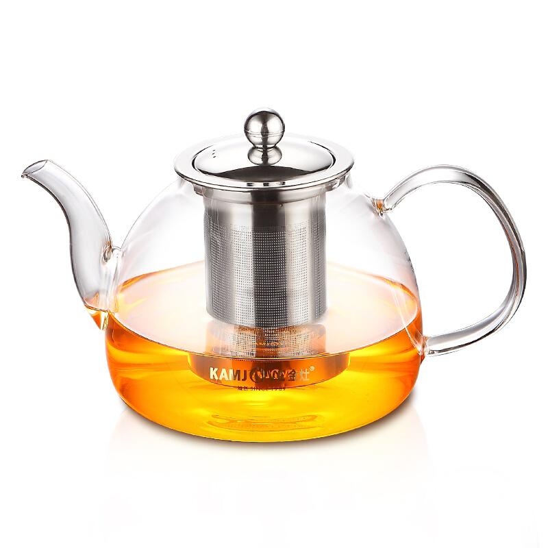 金灶 A-10 1200ml大容量玻璃泡茶壶飘逸杯 耐热玻璃茶具煮茶壶