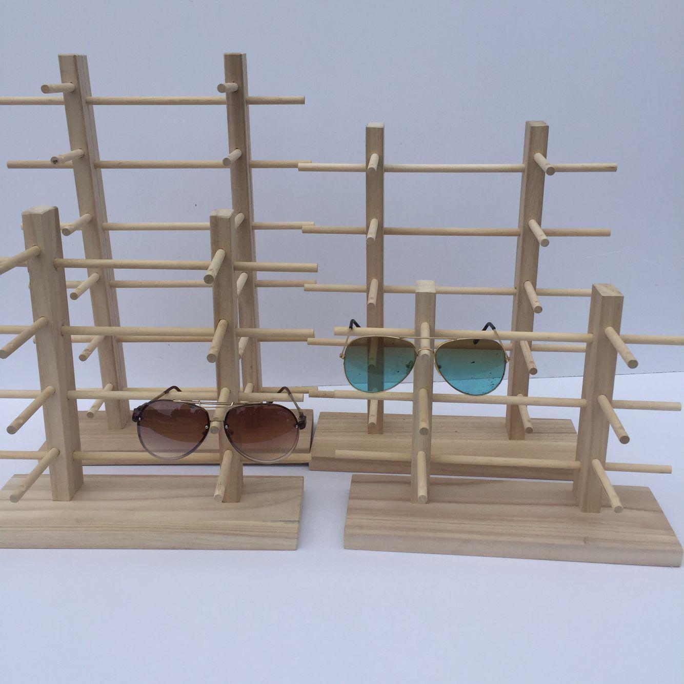 Высококачественный очки дисплей чисто деревянный оптика очки подбородок темные очки шоу небольшой реквизит очки чэн строка полка