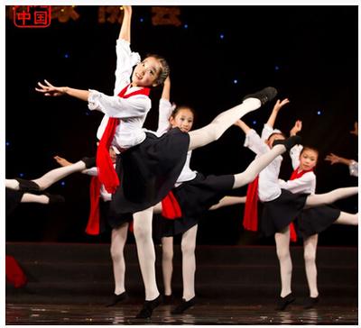 元旦国庆节元旦红梅赞演出服歌唱祖国中小学生大合唱服儿童舞蹈服
