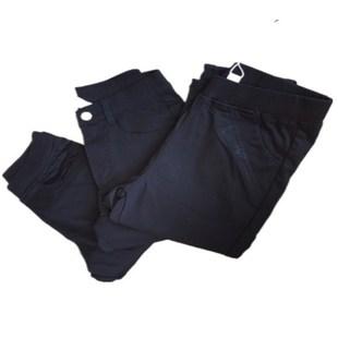 秋季新款可兒不抽絲打底褲女緊身彈力顯瘦小腳鉛筆褲外穿長褲子潮