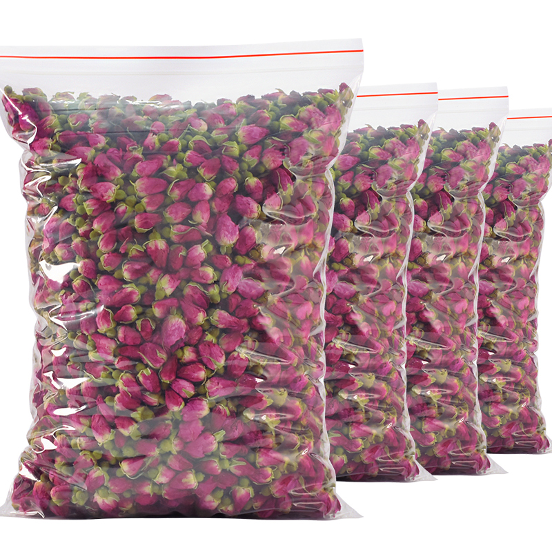 买2送红枣片 玫瑰花茶女人泡水茶花草茶山东平阴干玫瑰食用袋散装