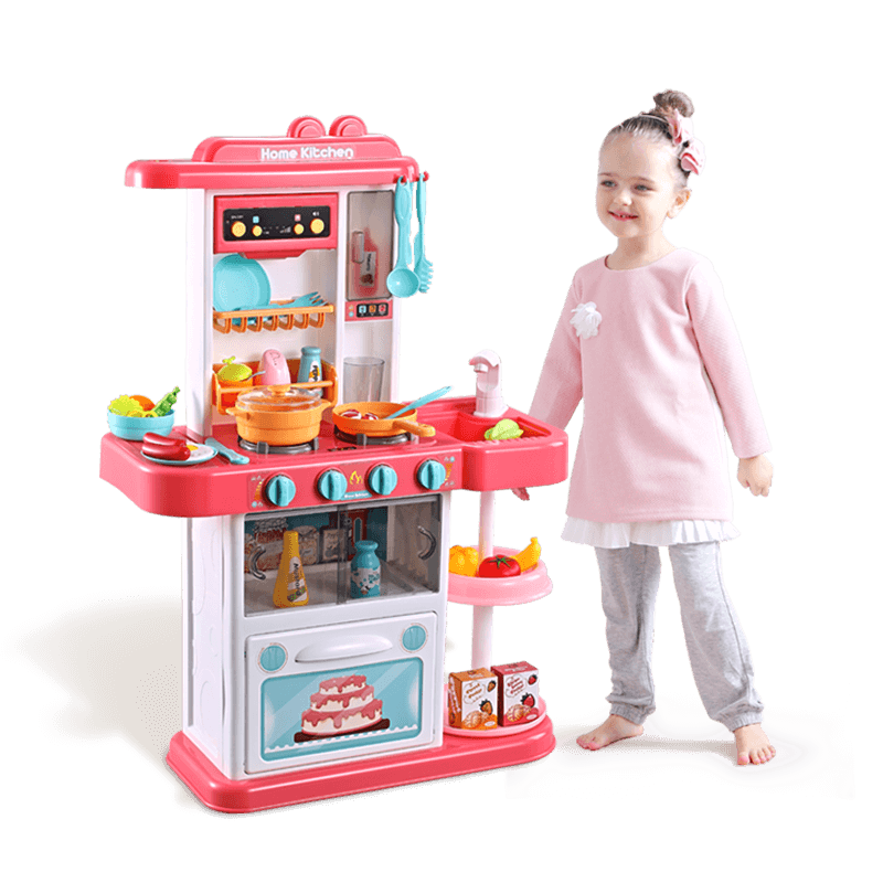 Children's kitchen toys home kitchen simulation kitchen utensils cooking and cooking boys and girls 3-6 years old and 7 years old