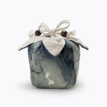 棉麻茶具茶杯收纳袋子茶壶快客杯主人杯布袋手提便携旅行加厚布包
