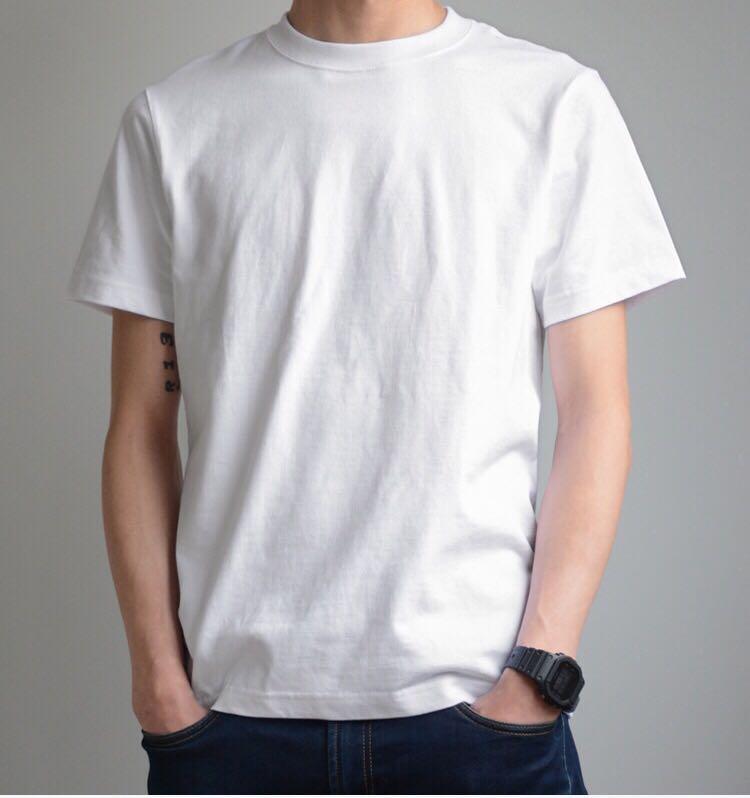 外贸graniph日系重磅夏季t恤圆领男女纯棉半袖打底短袖t恤衫百搭