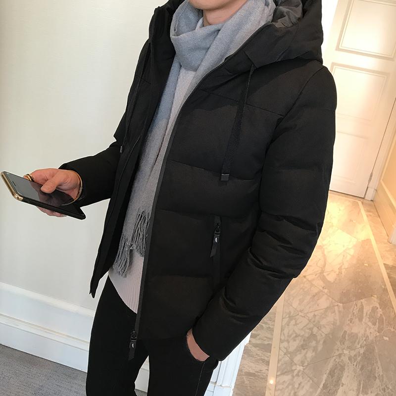 男士外套冬季2017新款潮流韩版衣服短款帅气秋冬男装棉服棉袄棉衣