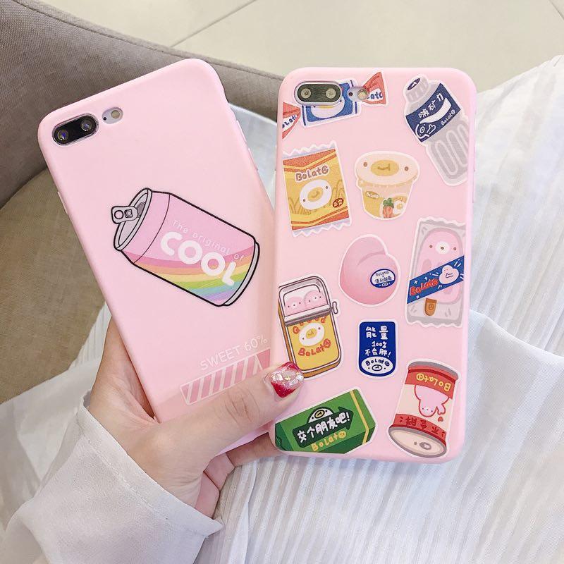 日系搞怪粉嫩饮料零食oppoa9手机壳(非品牌)