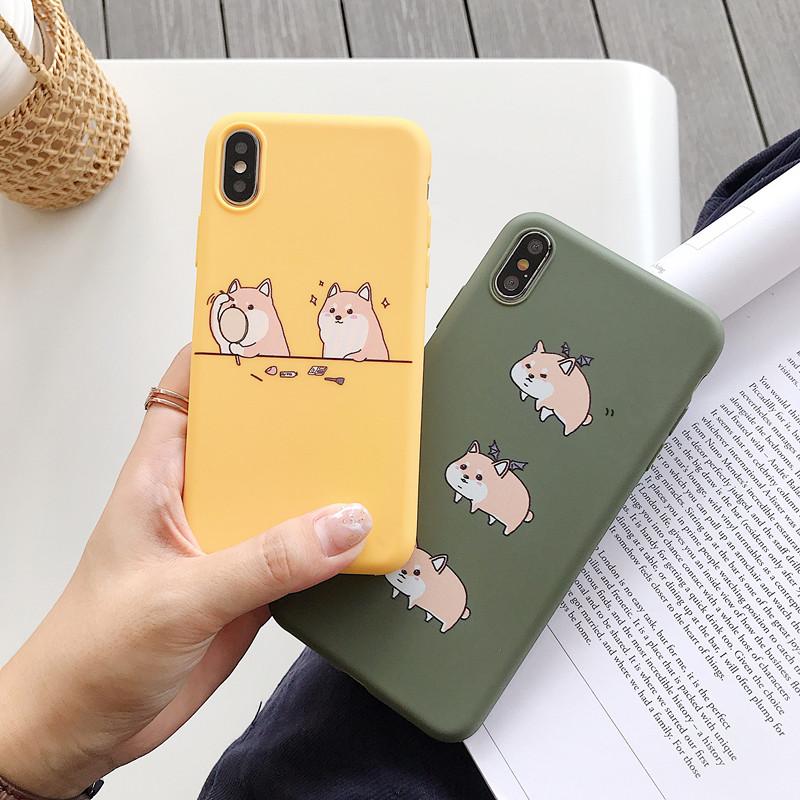 卡通柯基小狗全包苹果8plus手机壳限9000张券
