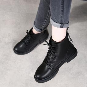 马丁靴夏季2021年新款真皮鞋41女鞋