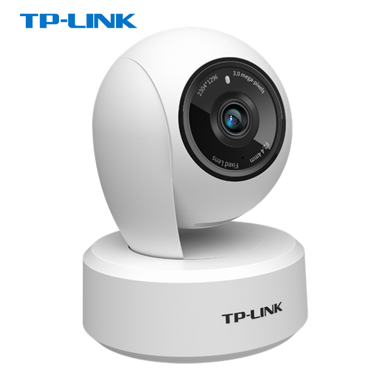 Tplink home wireless WFI camera two-way voice intercom monitoring probe home home connected mobile phone can talk remotely 360 degree panoramic indoor night vision automatic rotation ceiling tracking